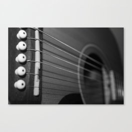fret Canvas Print