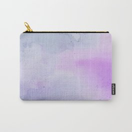 Soft Watercolours - Lavendar Carry-All Pouch