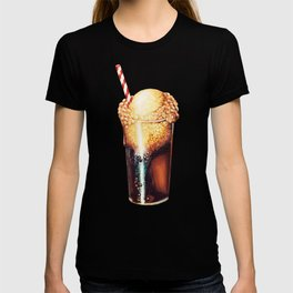 Root Beer Float Pattern T-shirt