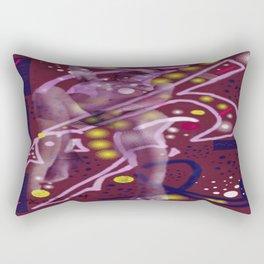 Homage to Balzac n.1 Rectangular Pillow