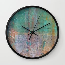 Abstract No. 369 Wall Clock