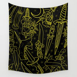 Blades Wall Tapestry