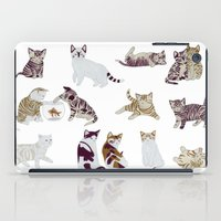 kittens iPad Cases featuring Little Kittens by Yuliya