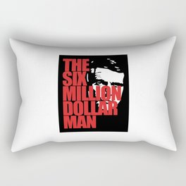 THE SIX MILLION DOLLAR MAN SILHOUETTE Rectangular Pillow