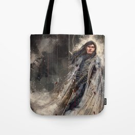 Fingolfin challenges Morgoth Tote Bag