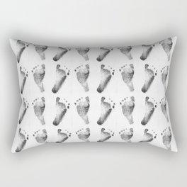 Baby Feet Rectangular Pillow