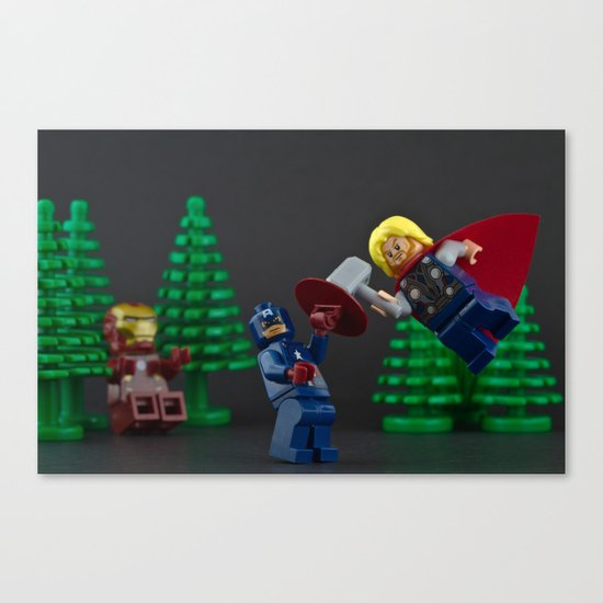 Hammer Time. Canvas Print