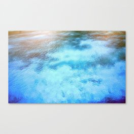 Worldly Waters Canvas Print