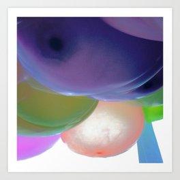 Ballons Art Print