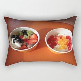 Frozen Yogurt Decisions Rectangular Pillow