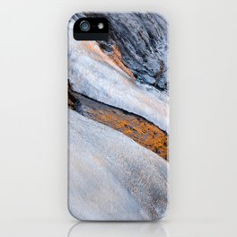 Cold and golden iPhone Case