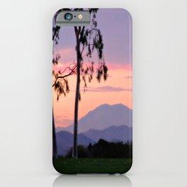 Saddleback Sunset iPhone Case