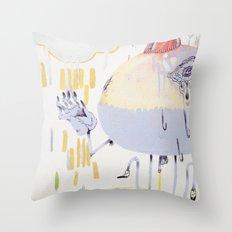 cyclical Throw Pillow