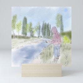 On the Other Line Fishing || New Brunswick || Canada Mini Art Print