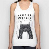 vampire weekend Tank Tops featuring Vampire Weekend / George Washington Bridge by Harold's Visuals