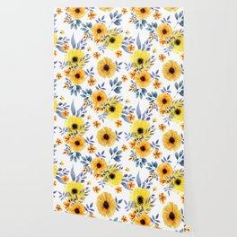 FLOWERS WATERCOLOR 10 Wallpaper
