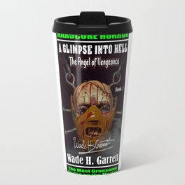 """""""The Angel of Vengeance"""" book cover art with signature Travel Mug"""