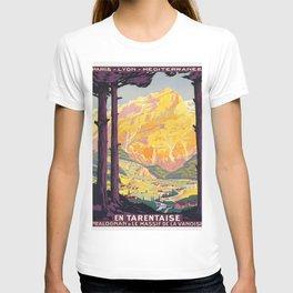 Vintage poster - En Tarentaise, France T-shirt