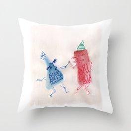 Srirachacha Throw Pillow