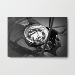 Vintage BMW speed Metal Print