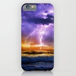Illusionary Lightning iPhone Case