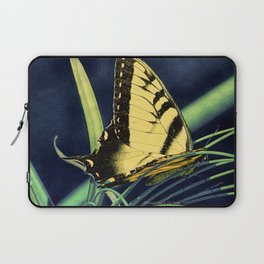 Yellow Tiger Swallowtail Butterfly A125 Laptop Sleeve