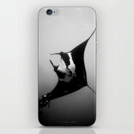 Evading Devil Fish iPhone Skin