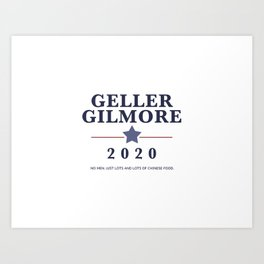 Geller Gilmore 2020 Art Print
