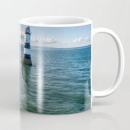 Trwyn Du aerial Coffee Mug