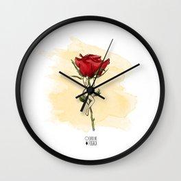 Rose body Wall Clock