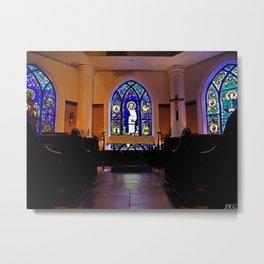 Holy Cross Chapel Metal Print