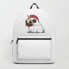 Unicorn Pug Backpack