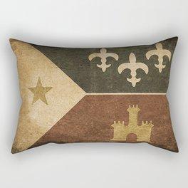 Acadian Flag Rectangular Pillow