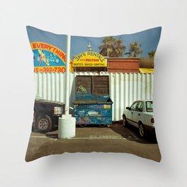 Carpark Throw Pillow