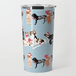 Coonhound Holiday Travel Mug