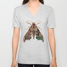 Sphinx Moth Unisex V-Neck