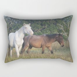 Horsing Around Rectangular Pillow
