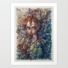Artoxication Art Print