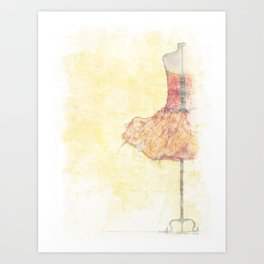 Dancer In Waiting Art Print