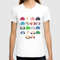 video games T-shirts featuring Females In Video Games by Leguna