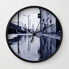 Another rainy day Wall Clock