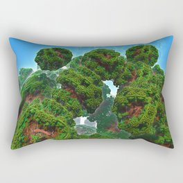Bacterium Hedgerow Rectangular Pillow