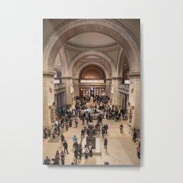 Metropolitan Museum of Art, NYC Metal Print