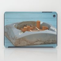 cigarettes iPad Cases featuring Cigarettes  by Rovar