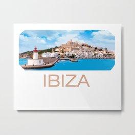 Ibiza Metal Print