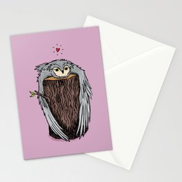 Log Hug Stationery Cards