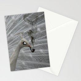 Smoking peacock Stationery Cards