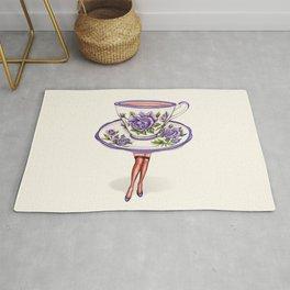 Tea Cup Pin-Up Rug