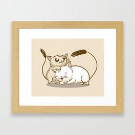 CatTails! Framed Art Print