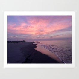 Cape May Sunrise Art Print